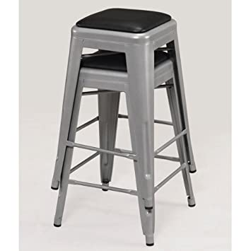padded metal counter stool set height swivel stools tabouret 24 inch canada backless