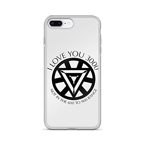 iPhone 7 Plus/8 Plus Pure Clear Case Cases Cover I Love You 3000 Not in The 600 to 900 Range Father's Day ()