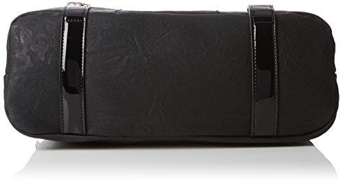 Rieker H1135, Borsa con Maniglia Donna, Nero (Schwarz/00), 38 x 27 x 14 cm (B x H x T)