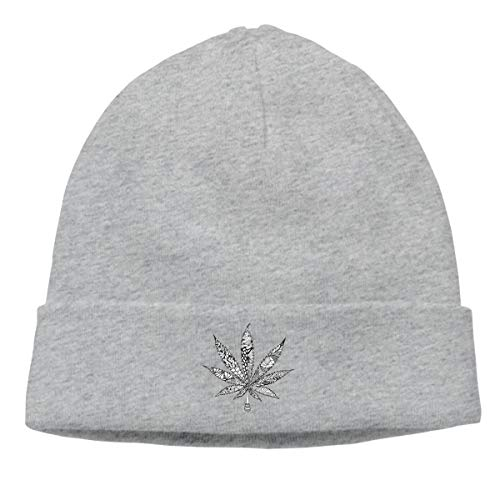 MIPU SHANGMAO Maple Beanie Cap Soft Warm Hat Hedging Caps Wool Cap Men Women