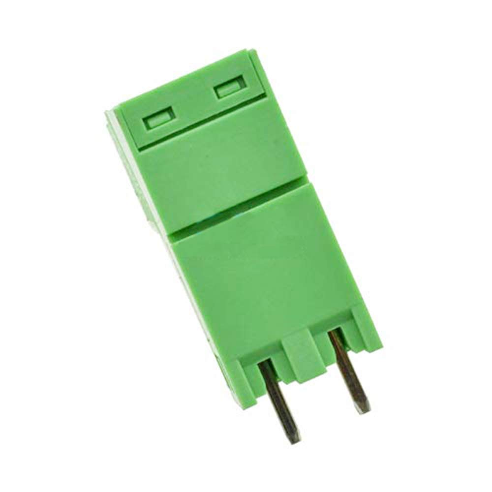 Youmile 10PCS KF2EDGK 2PIN 300V 10A KF-2P Screw Terminal Block Connector 5.08mm Plug-in PCB For Arduino With Slotted Screwdriver