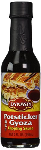 Dynasty Potsticker - Gyoza Dipping Sauce, 5-Ounce Bottle (Pack of 3)