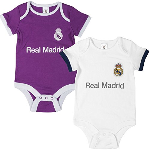 ecf04b88a Real Madrid - 2 Pack Baby Onesies - 3-6 months - new for 2017 - Buy Online  in UAE.