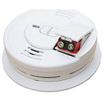 Kidde i9070 Front Load Battery-Operated Ionization Sensor Smoke Alarm