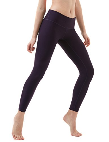 Tesla Yoga Pants Mid-Waist Leggings w Hidden Pocket FYP51/FYP41