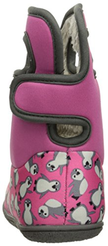 Multi Classic Baby Boot Bogs Pink Winter Penguins Snow PvZ68wzq