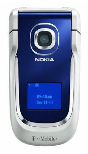 amazon com nokia 2760 phone blue t mobile cell phones accessories rh amazon com