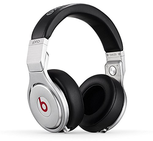 Beats Pro by Dr Dre Over-Ear Wired Headphone with Mic & Remote Talk Cable - Black (Renewed)