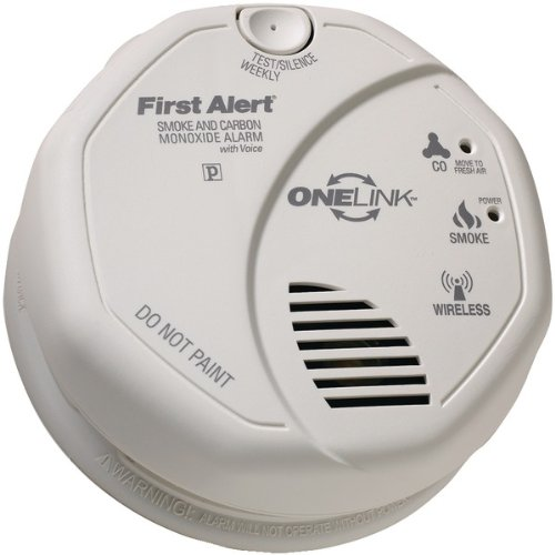 FIRST ALERT SCO501CN-3ST ONELINK Battery-Operated Combinatio