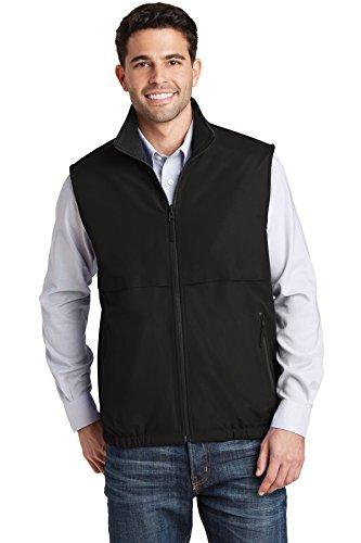 (Port Authority Reversible Charger Vest J7490 True Black 5XL)