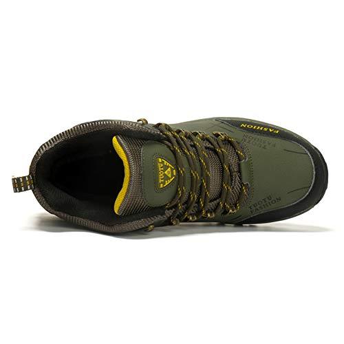 Neve Sportive uomo uk Escursionismo All'aperto Multisport Life Donna Verde Sneaker Antiscivolo Stivali Arrampicata Licy Cotone Scarpe Esterne Impermeabile Con 48WOqYYp