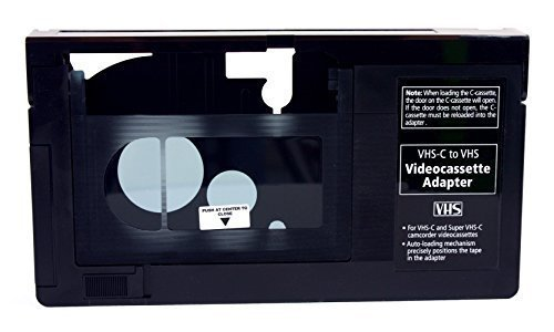 Gigaware VHS-C Videocassette Adaptor by Gigaware - Radio Shack