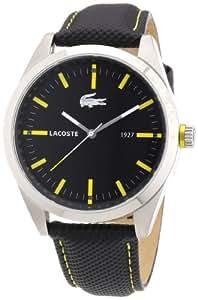 Lacoste 2010596 - Reloj analógico de cuarzo para hombre con correa de tela, color negro