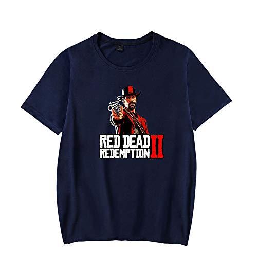 Dead xxxl Red 2 shirt Donna Ctooo Uomo T Unisex Blu1 Redemption Xxs HvqZngnfwA