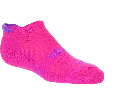 Balega Kids Hidden Cool Socks , Black/Neon Green, Medium
