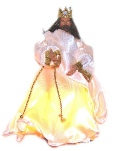 King of Glory Jesus Christmas Treetopper Ornament (Tree Jesus Topper)