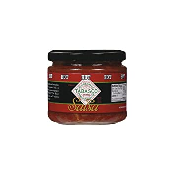 Tabasco Tabasco Salsa Hot (Economy Case Pack) 11 Oz Jar (Pack of 6