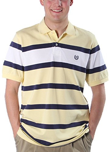 Chaps Striped Polo - 4
