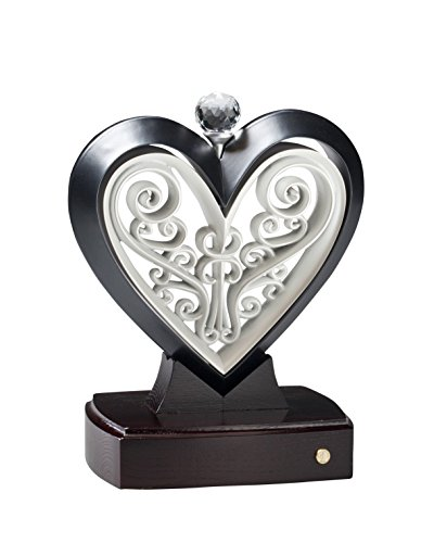 Unity Heart Slate Black and Pearl White by The Unity Cross