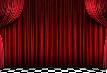 Stage Backdrop Drapes for Club Stage or Theatre