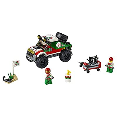 LEGO CITY 4 x 4 Off Roader 60115: Toys & Games
