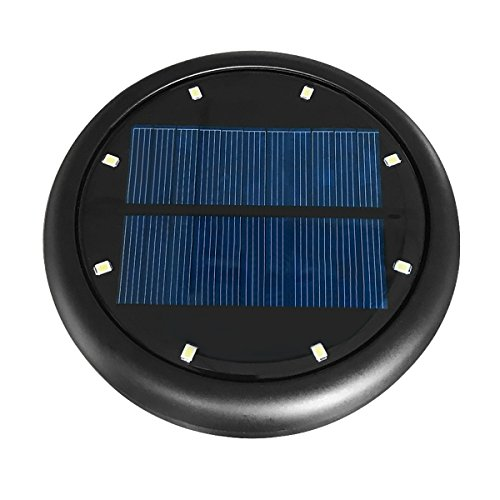 Solar In-ground Lights Outdoor Upgraded, PATHONOR 2 Pack Warm White Pathway Landscape Flood Deck Light Water-proof Dark Sensing Auto On/Off Lawn Garden Patio Yard Driveway Walkway Pool Area