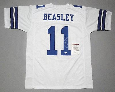 best service 2def1 939db Cole Beasley Signed Jersey - WITNESSED COA #W762335 - JSA ...