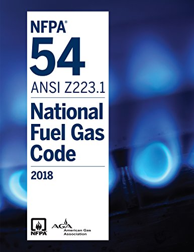 Nfpa 54 National Fuel Gas Code  2018 Edition