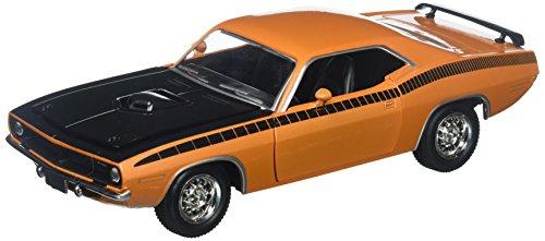 NewRay 1:24 W/B City Cruizer - 1970 Plymouth Cuda - Orange -