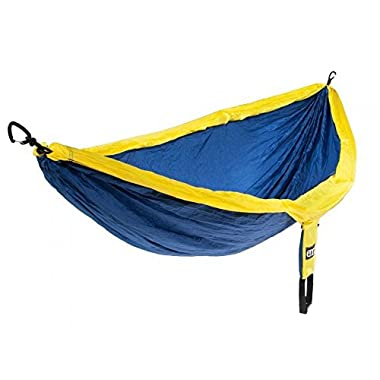 Eagles Nest Outfitters - DoubleNest Hammock, Sapphire/Yellow (FFP)