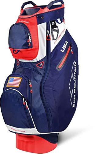 Sun Mountain 2019 Phantom Cart Bag Navy/Red