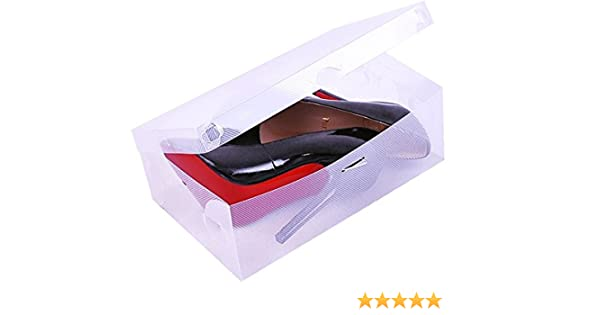 Zapato Box – Caja 30 cm Zapatos Caja de cartón apilables Caja ...