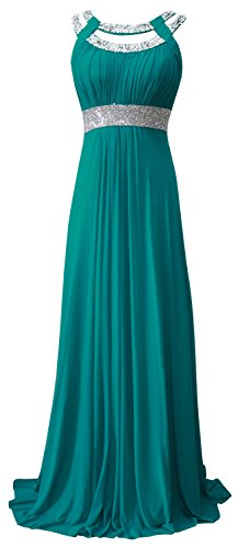 conail Coco Women's Elegant Royal Formal Dresses Wear Long Wedding Party Gowns (XLarge, 70turquoise)