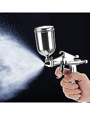 Pistolas de pintura, Pistola de espray neumática de la boquilla 125ml del profesional 0.5mm mini para la reparación de la pintura del coche