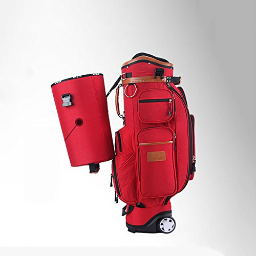 PGM Padded Travel Cover Bag With Wheels With coded lock----Free Send a Rain Cover (red) by PGM (Image #4)
