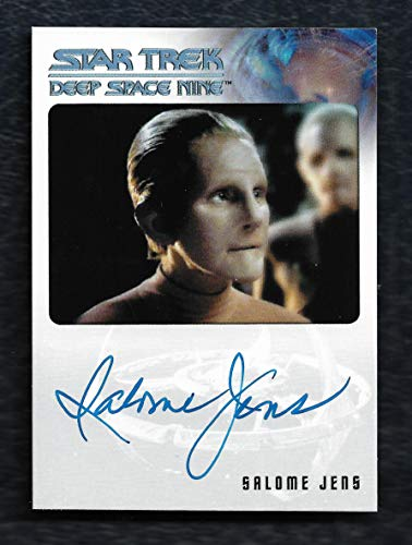 """2018 Rittenhouse Archives Star Trek Deep Space Nine Heroes & Villains Autograph Salome Jens as Female Changeling""""Very Limited"""""""