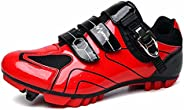 Bicycle Men Road Shoes Touring Indoor Cycling Women Shoes and Indoor Cycling Footwear with Buckle & Ve