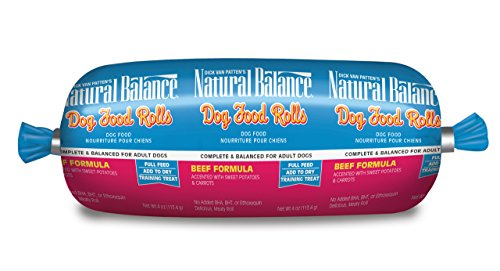 Dick Van Patten's Natural Balance® Beef Formula Dog Food Roll, 4-Ounce