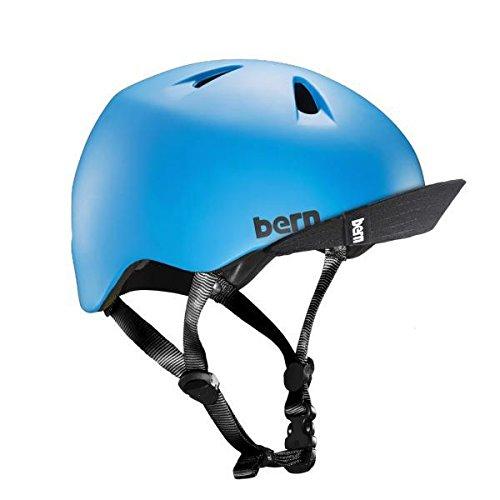 Bern Unlimited Tigre Helmet w/ Flip Visor (Satin Cyan Blue) For Sale