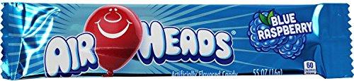AirHeads Bars, Blue Raspberry, Non Melting, 0.55 oz