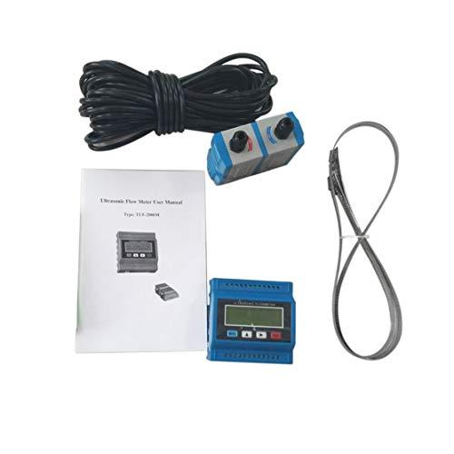 TUF-2000M TM-1 Portable Digital Ultrasonic Flowmeter Flow Meter Tester Heat Water Flow Meter with RS-232 Output Easy - Meter Portable Ultrasonic Flow