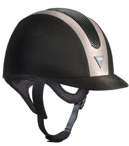 Irh Ath Helmet (IRH SSV ATH Helmet - Size:6 1/2 Color:Black/Grey Suede)