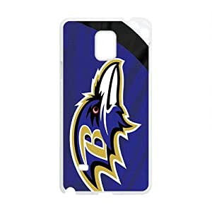 Happy Baltimore Ravens Fashion Comstom Plastic case cover For Samsung Galaxy Note4