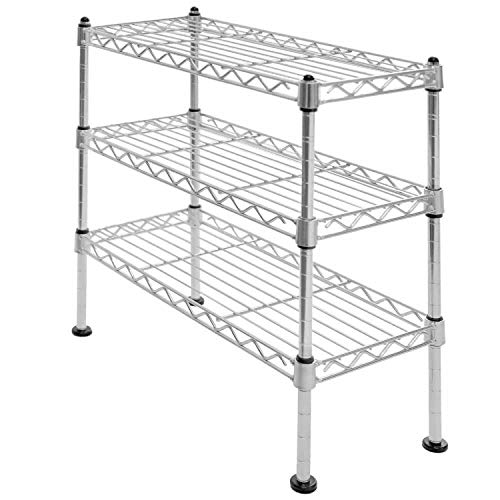 small metal shelf unit - 6