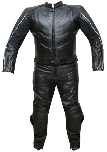 Black Motorcycle Suit - 3