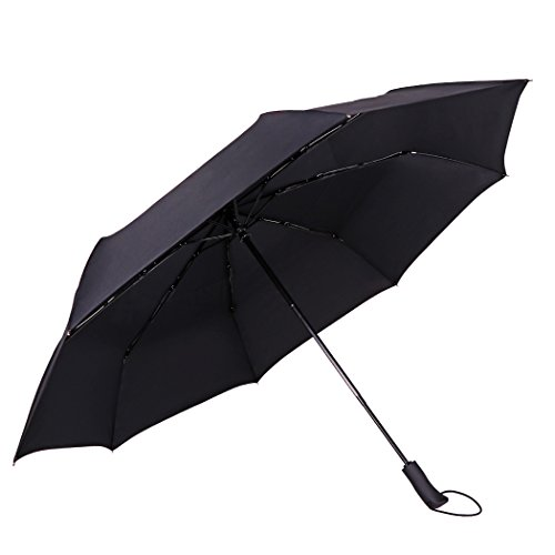 Golf Umbrella JTTVO 53-inch Large Windproof Vented Double Canopy Auto Open Waterproof Umbrella for Business Travel Women and Men with Portable Bag