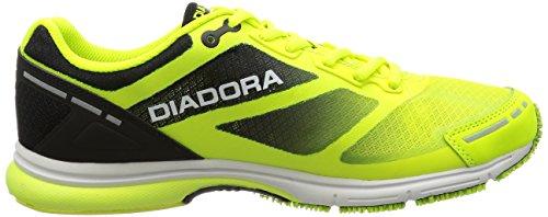 Diadora Unisex-erwachsene Mythos Racer Evo Trainingsschuhe Giallo (giallo Fluo/nero (c4102)