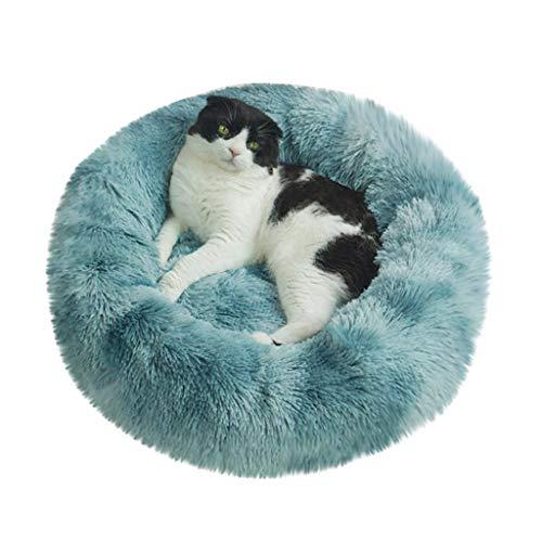Smniao Hundebetten Plüsch Haustierbett Hundesofa Katzensofa Schlafplatz für Katzen Weicher Waschbar Katzenbett Hunde Mat