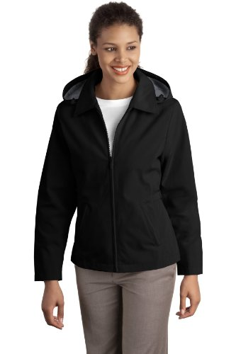 Ladies Legacy Jacket, Color: Blk/Steel Grey, Size: Small
