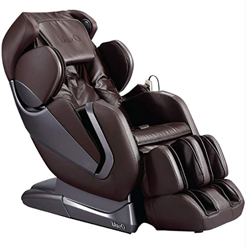 - Titan Pro- Alpha Full Body Massage Chair, New Arm Design, L-Track Roller Design for Under Buttocks, Space Saving Feature, Zero Gravity Position, Foot Rollers (Beige)